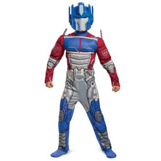 Disguise Transformers Optimus Prime Muscle Costume