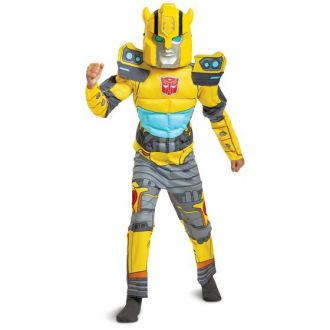 Disguise Transformers Bumblebee Muscle Costume