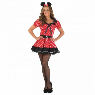 Costume Missy Mouse per Donna