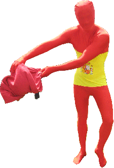 Morphsuit Spagna