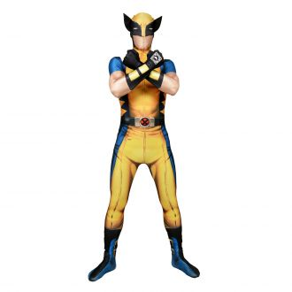 Morphsuit Deluxe Wolverine